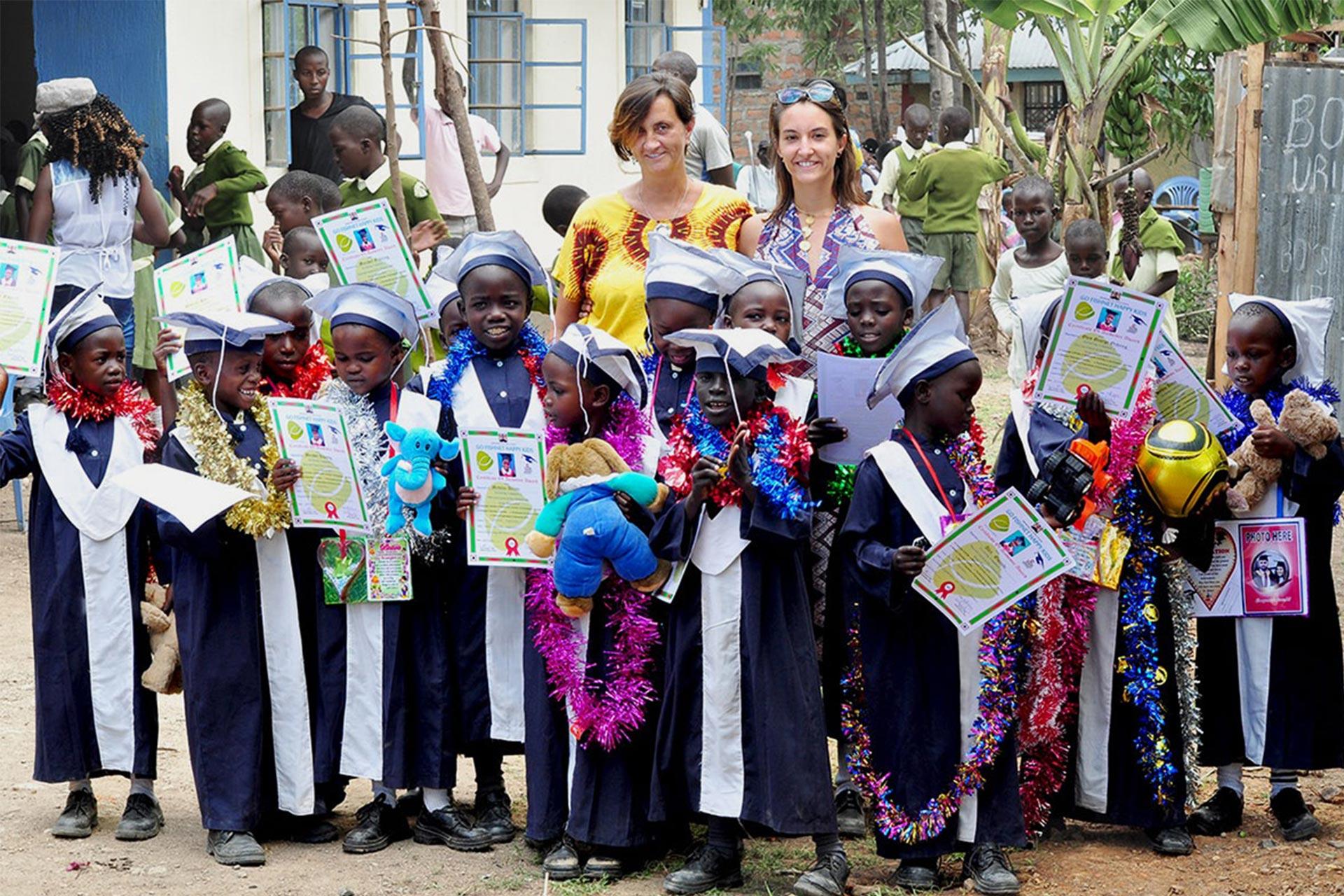 Tina und Petra in Kenia