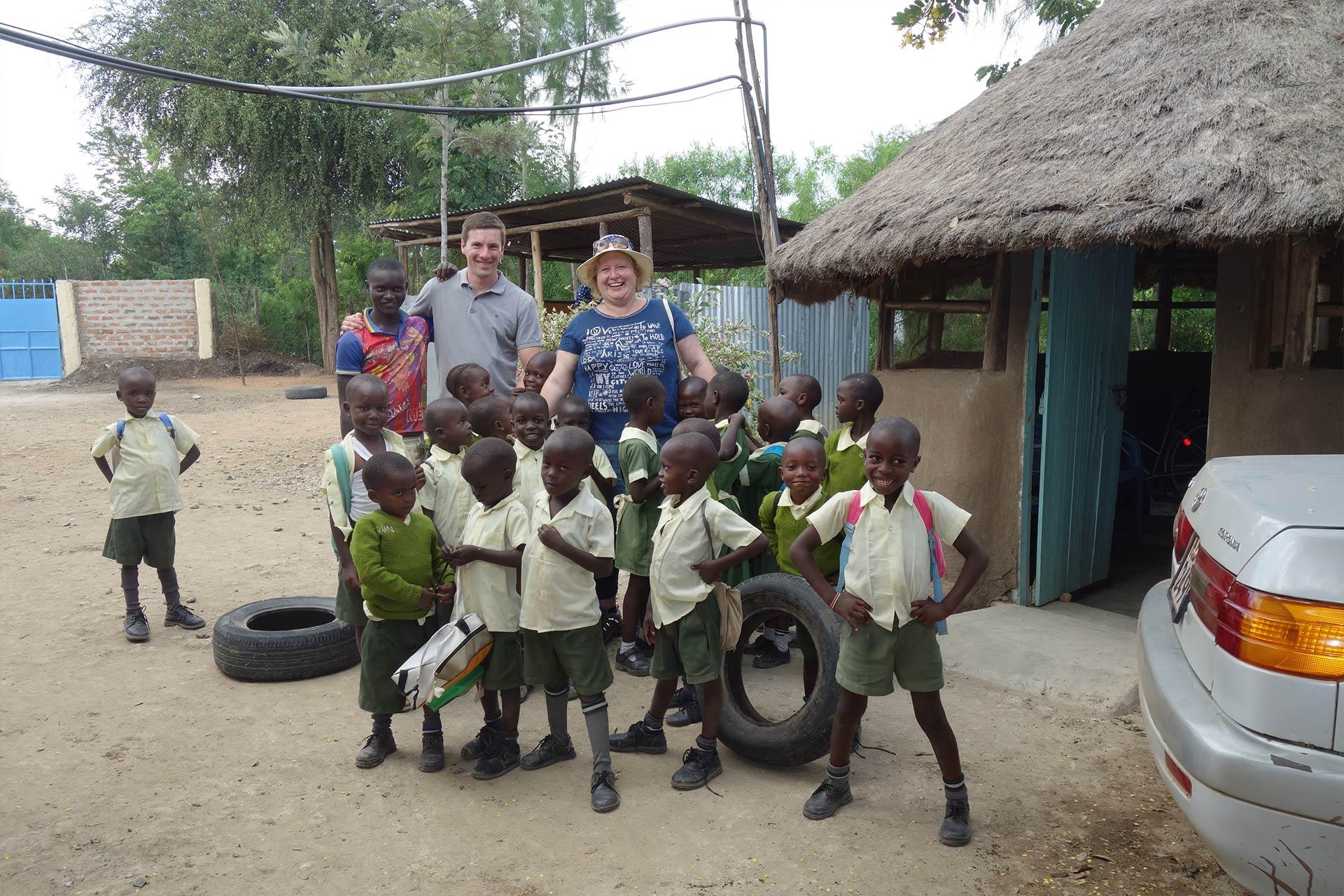 Irmgard und Josef in Kenia