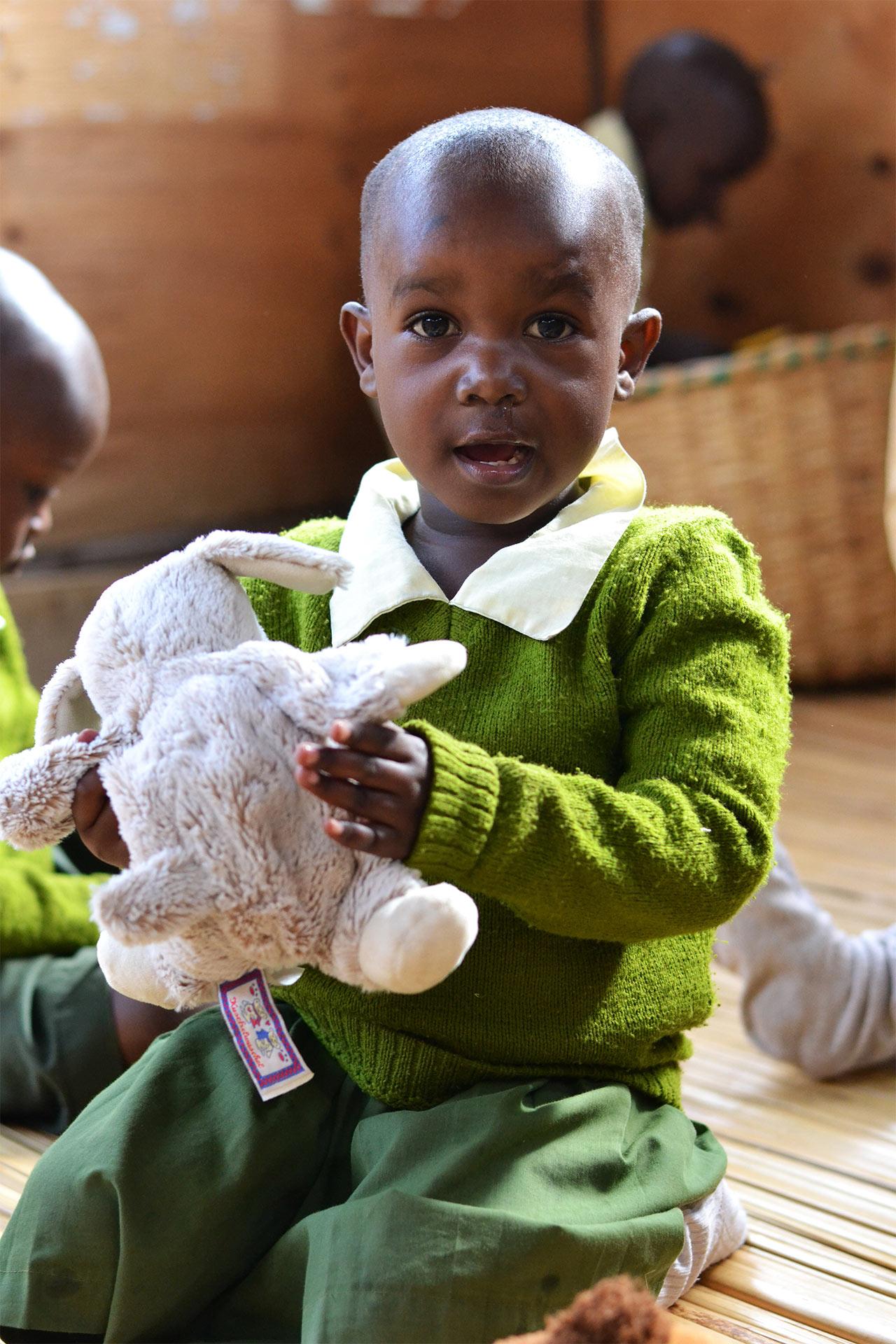 Schülerin der Baby Class