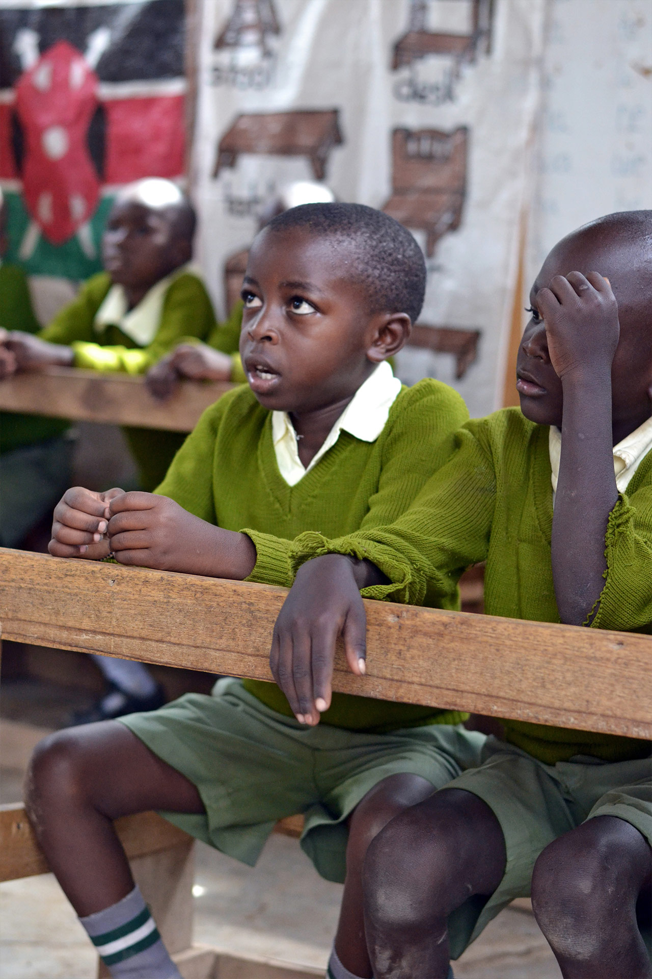 Schüler der Happy Kids Vorschule