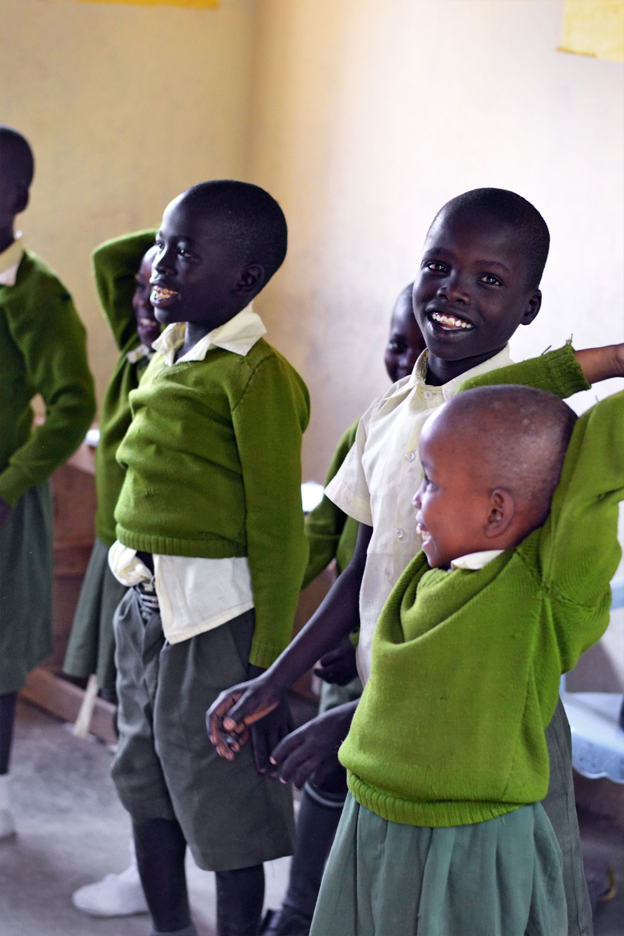 Happy Kids im spielerischen Unterricht