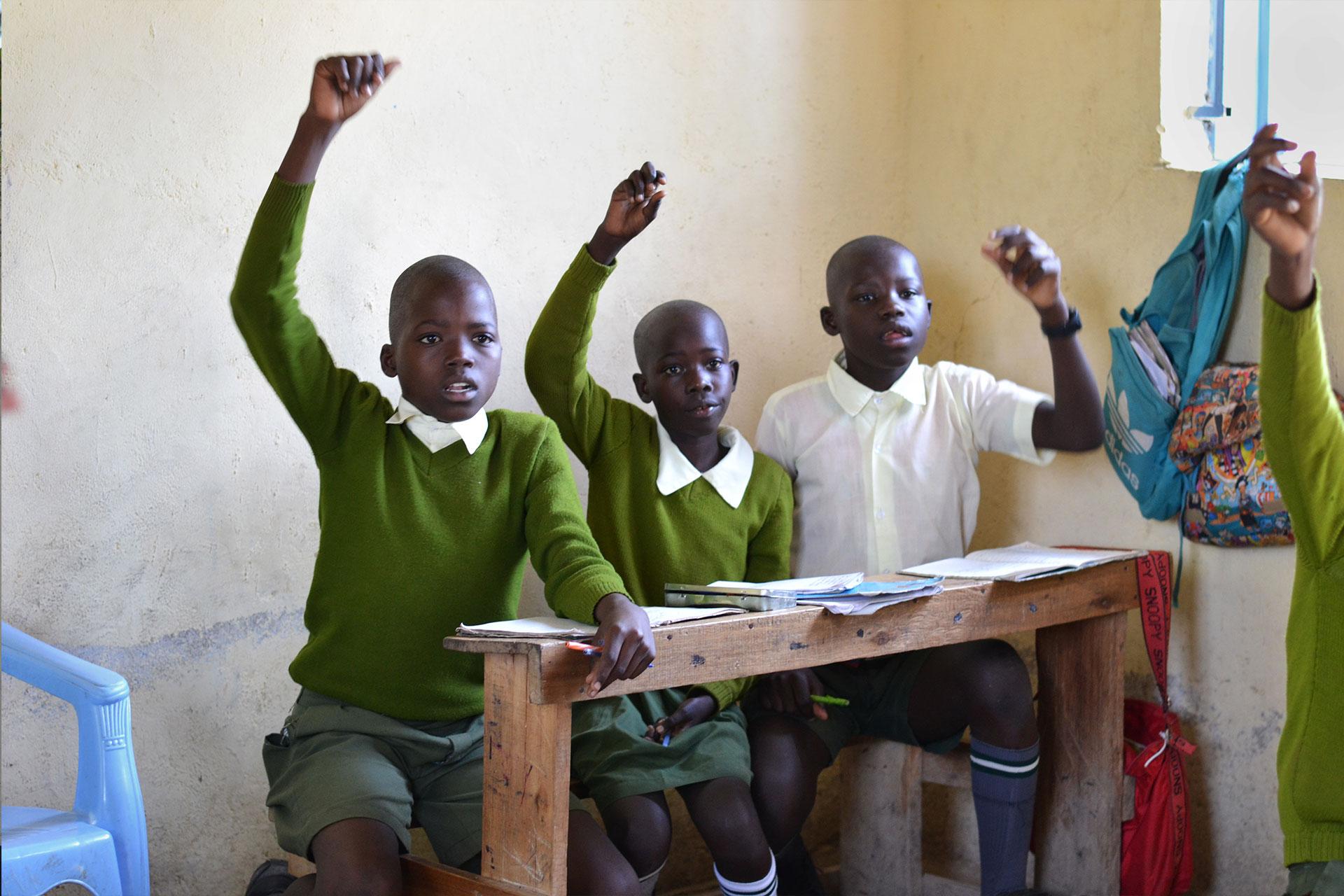 Happy Kids aktiv beim Lernen