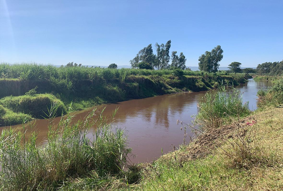 Fluss Nyando